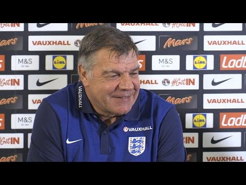 Sam Allardyce Press Conference - Reveals His First England Squad