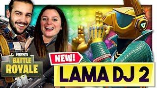 LE LAMA DJ EST DANS LA PLACE ! FORTNITE DUO FR
