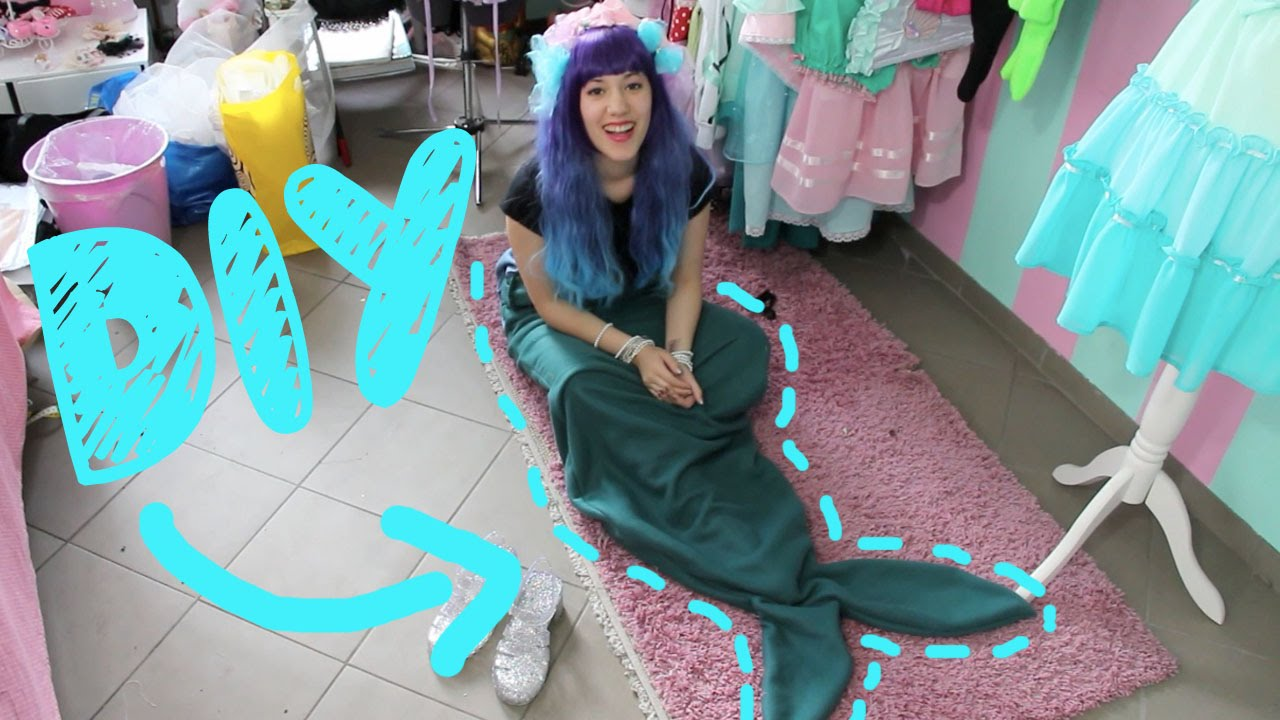Diy I Meerjungfrauenschwanz Eng Sub Youtube