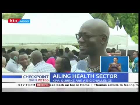 Health workers complain about failing health sector in the country