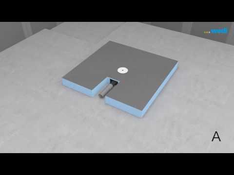 Wedi De Training Bodengleiche Dusche Fundo Integro Youtube