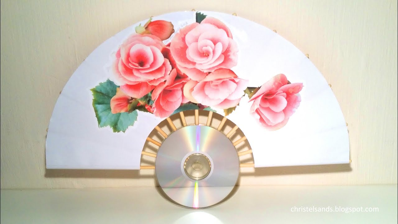 How To Make A Paper Hand Fan A Step By Step Tutorial Best Out Of