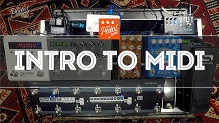 Introduction To MIDI For Guitar Pedals & How To Use It – That Pedal Show