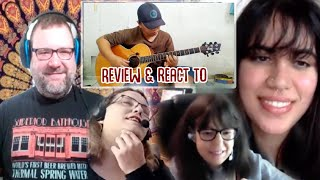 Musicians Panel LIVE Reacts to Alip_Ba_Ta Kiss From A Rose SEAL Guitar Cover Reaction