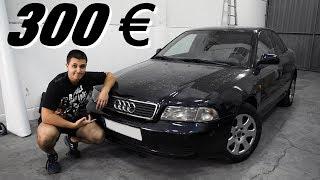 He comprado un Audi A4 1.9 TDI por 300 EUROS 💸 Mi nuevo daily para dejarlo de serie y ahorrar 😂