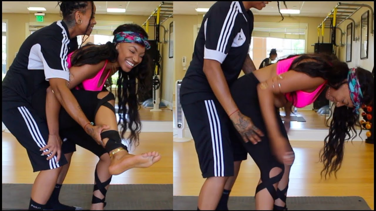 Lesbians Do The Extreme Yoga Challenge Was A Extreme Fail Smh