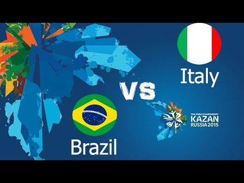 Kazan 2015 | Women's Water Polo | Italy vs Brazil | Waterpolo