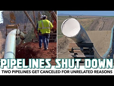 Two Pipelines Get Shut Down