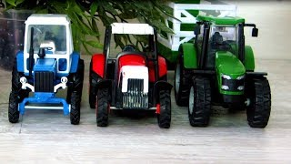 Рабочие машины. Видео для детей с игрушечными машинами. Все серии подряд