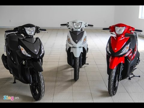 Suzuki Address Phiên Bản đen Và đỏ
