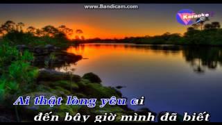 Karaoke Duong Tinh Doi Nga (Thieu giong Nu)