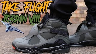 "COP OR NOT ? JORDAN 8 "" TAKE FLIGHT "" REVIEW AND ON FOOT IN 4K !!!!"