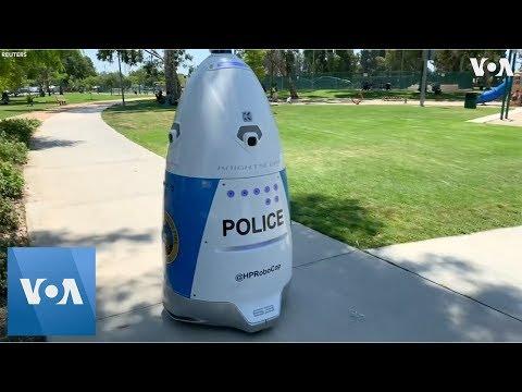 California Police Unveil Crime-Fighting Robot