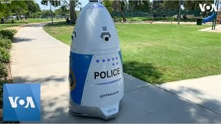 California Police Unveil Crime-Fighting Robot