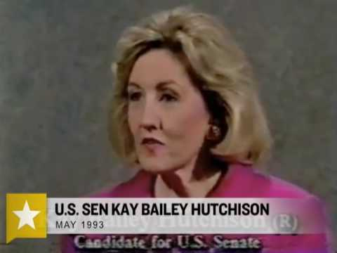 Kay Bailey Hutchison on Abortion in '93 and '10