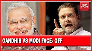 Face Off Between Gandhis And Modi In 2019 Lok Sabha Elections Summed Up