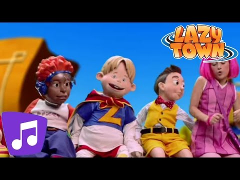 Lazy Town | Energy Music Video