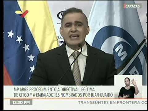 Fiscal venezolano Tarek William Saab, rueda de prensa, 14 febrero 2019