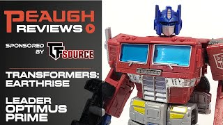 Video Review: Transformers EARTHRISE - Leader OPTIMUS PRIME
