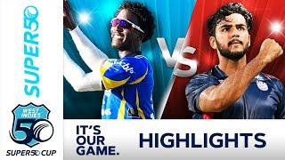 Springer Shines In Close Match | Barbados v USA | Super50 Cup 2018 - Extended Highlights