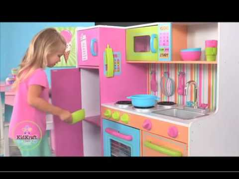 grande cuisine pour enfant deluxe youtube. Black Bedroom Furniture Sets. Home Design Ideas
