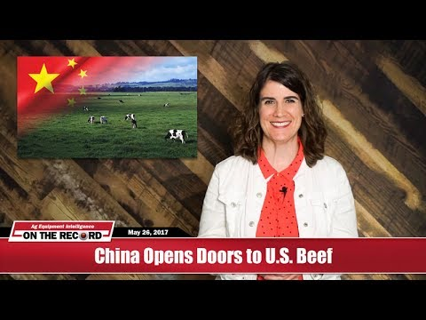 On the Record: China Opens Doors to U.S. Beef