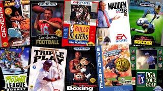 Top 150 best Sega Genesis sports games