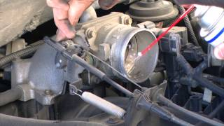 2001 Ford F150 Intake System Service - Amsoil Power Foam