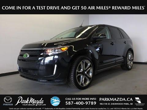 BLACK 2014 Ford Edge  Review Sherwood Park Alberta - Park Mazda