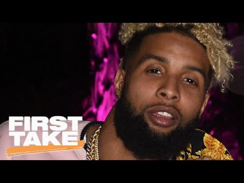 Odell Beckham Jr. Hanging With Johnny Manziel | First Take | May 25, 2017