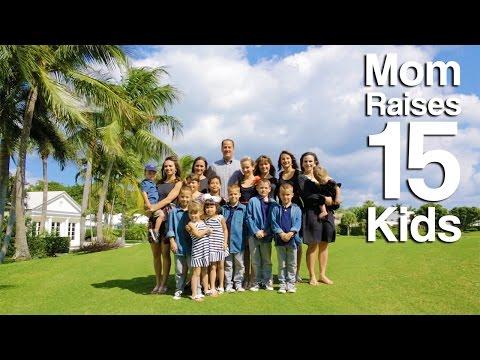 Mom Raises 15 Kids