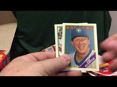 1988 Topps Case Break