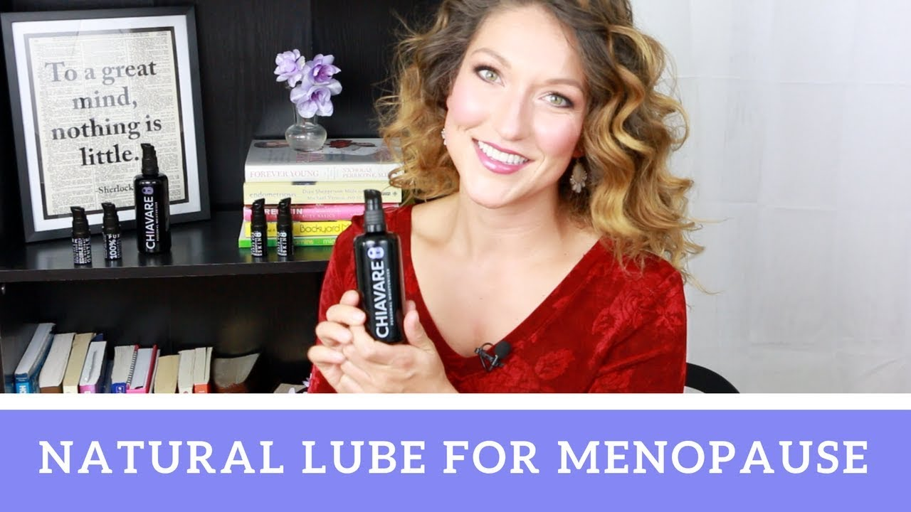 Menopause lubricant