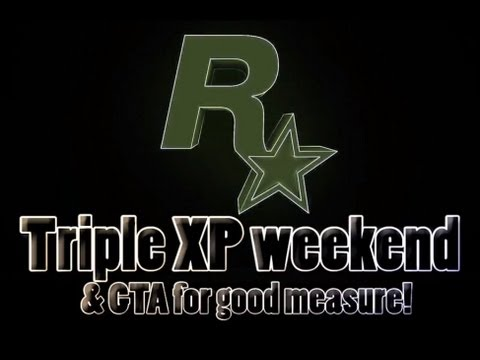 Rockstar Games Social Club Event & Triple XP Weekend 04/13