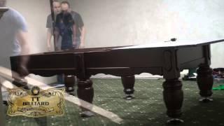 видео профессиональные бильярдные столы