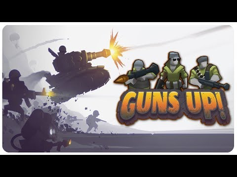 EPIC F2P Fort n' Infantry Building Multiplayer Combat! | Guns Up Gameplay Part 1?