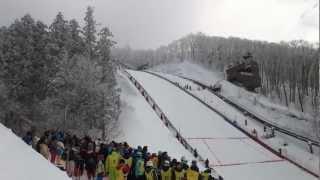 FIS スキージャンプワールドカップレディース2013蔵王大会 サラヘンドリクソン 検索動画 9