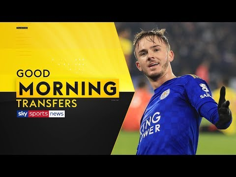 LIVE! | Would James Maddison Join Man United? | Good Morning Transfers