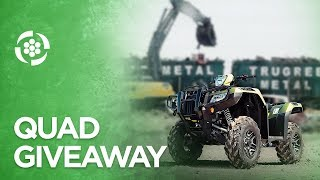 WIN a 2020 Fully Loaded Honda Rubicon Quad!