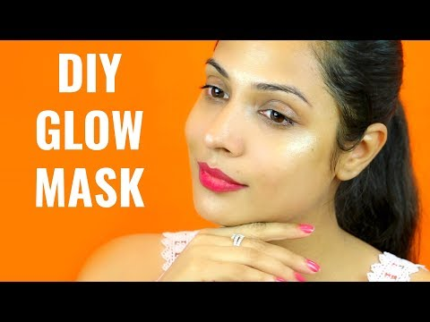 DIY GLOW MASK - Get INSTANT Glowing Face Naturally this Festive Season | Shruti Arjun Anand