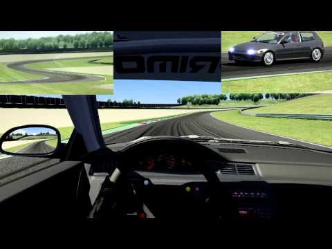 assetto corsa honda civic vti eg6 jtcc funnydog tv. Black Bedroom Furniture Sets. Home Design Ideas
