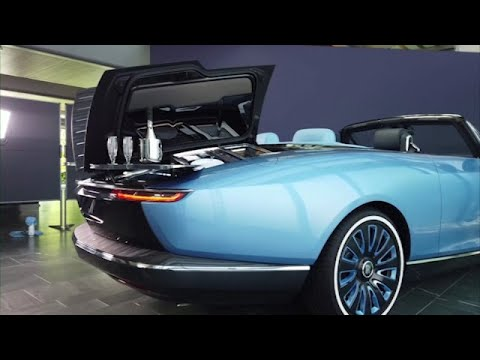 Rolls-Royce 'masterpiece' offers cocktail tables and more