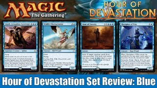 mtg hour of devastation full set review blue