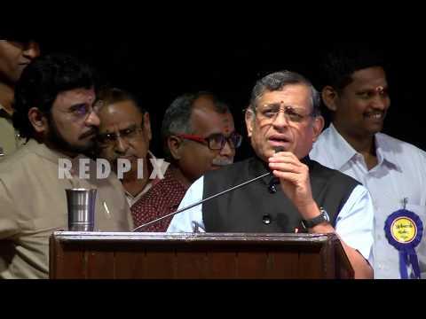 Thuglak anniversary 2018 Gurumurthy on Rajini politics to vairamuthu andal issue tamil news redpix