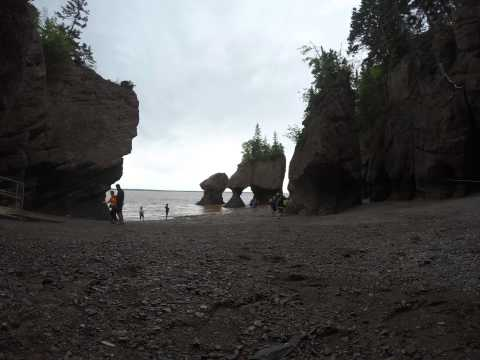 Hopewell Rocks, Bay Of Fundy, New Brunswick, Canada