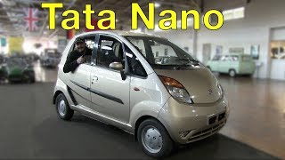 The Tata Nano is One of The Cheapest Cars Ever Produced