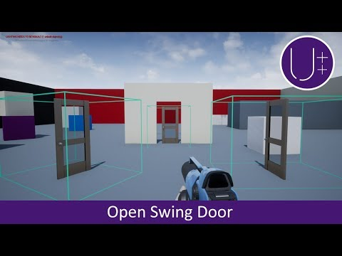 Unreal Engine 4 C++ Tutorial: Open Swing Door