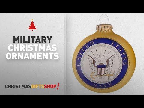 Military Christmas Ornaments Ideas: Christmas By Krebs CBK80426 Made In The USA Military Logo & Hymn
