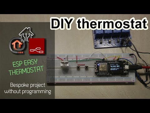 How To Build A Thermostat With ESP Easy