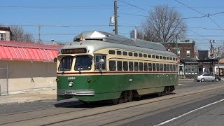 Philadelphia heritage streetcars - Route 15 (Girard Avenue Trolley)